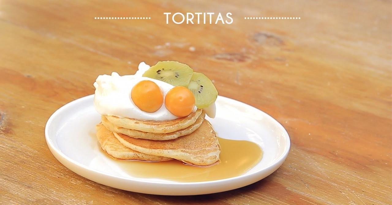 Tortitas para el desayuno o la merienda