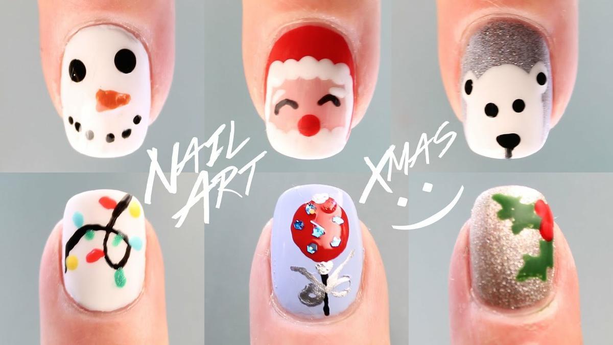 12 diseños de uñas para Navidad | Belleza