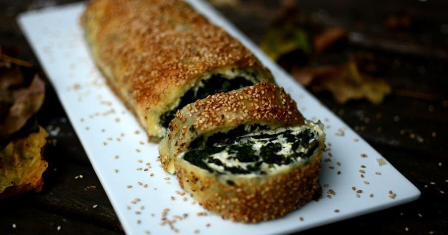 Borek de espinacas y queso