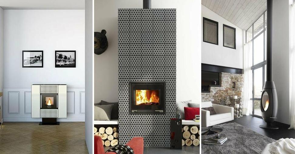 Estufas y chimeneas sin obra para conseguir la casa de for Salones con chimeneas electricas