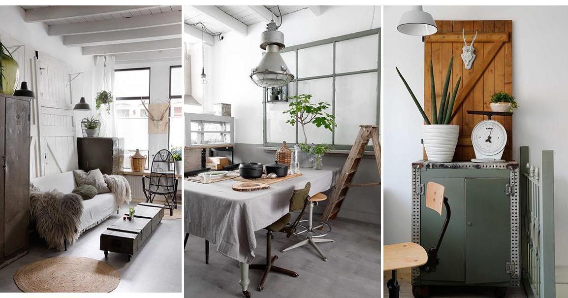 Chill decoraci n ideas de decoracion vintage e industrial - Decoracion vintage industrial ...