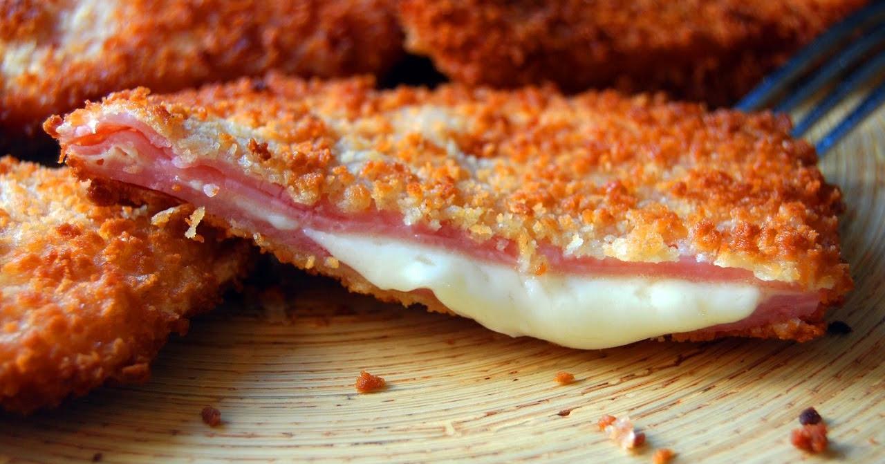 San Jacobos de jamón y queso muy fáciles
