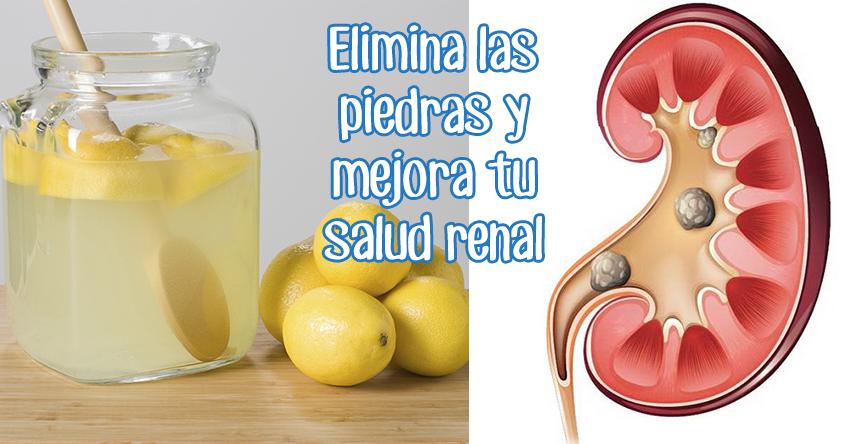 Remedio para limpiar los riñones y eliminar las piedras renales
