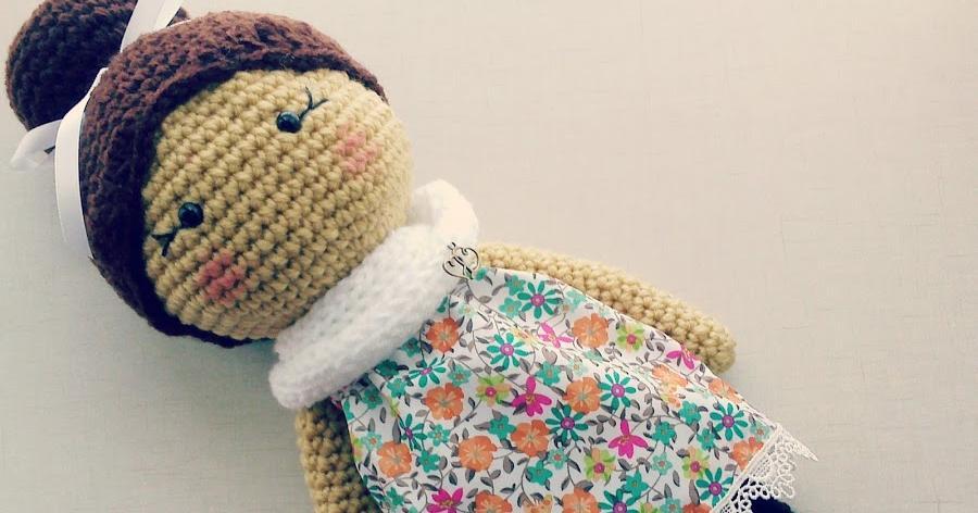 ¡Vamos a tejer una linda muñeca a crochet!