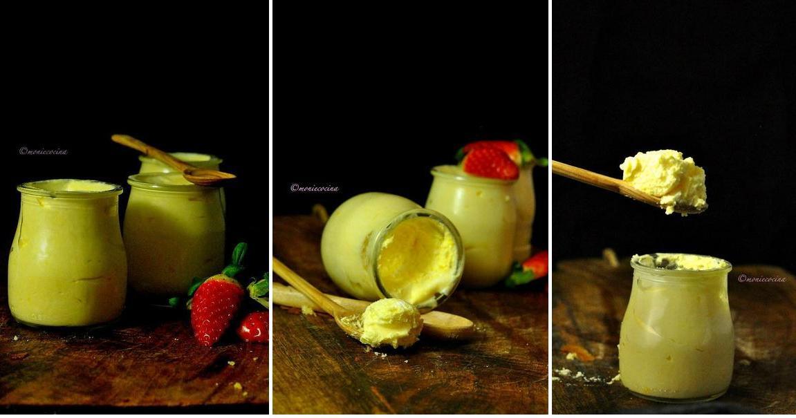 Mousse de limón super fácil
