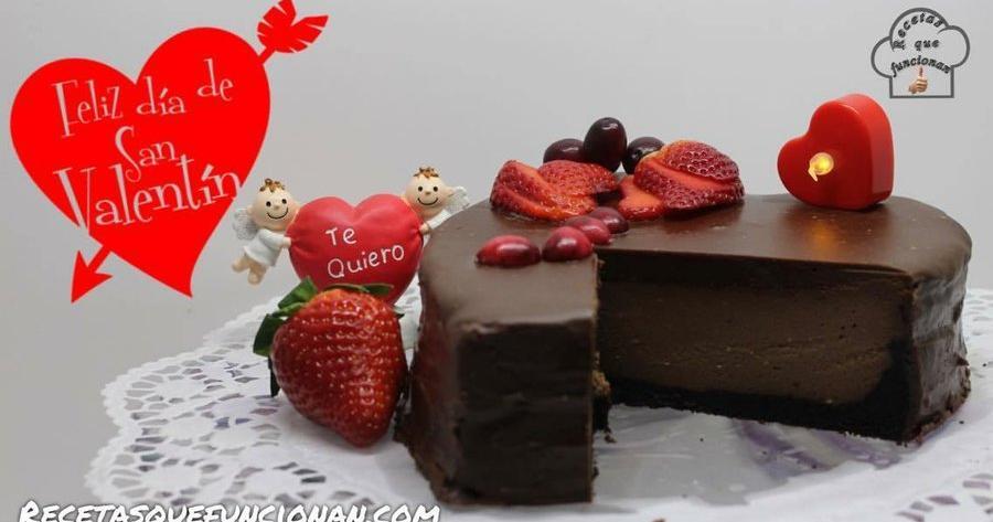 Nutella cheesecake especial San Valentín