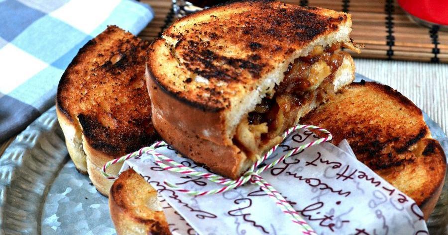Sandwich de pollo a la salsa barbacoa (receta fácil)