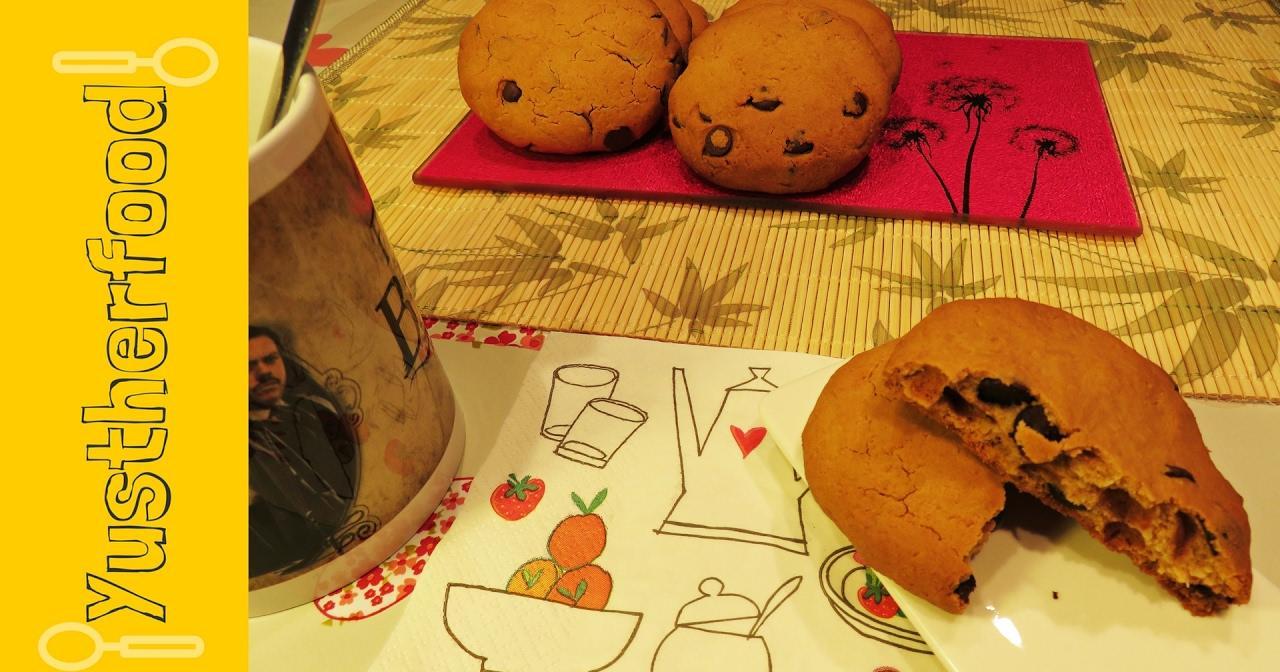 Galletas con coco y chocolate: la mejor receta de galletas sin gluten