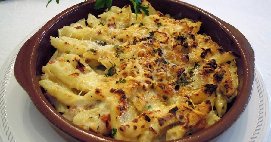 Macarrones glamurosos con queso