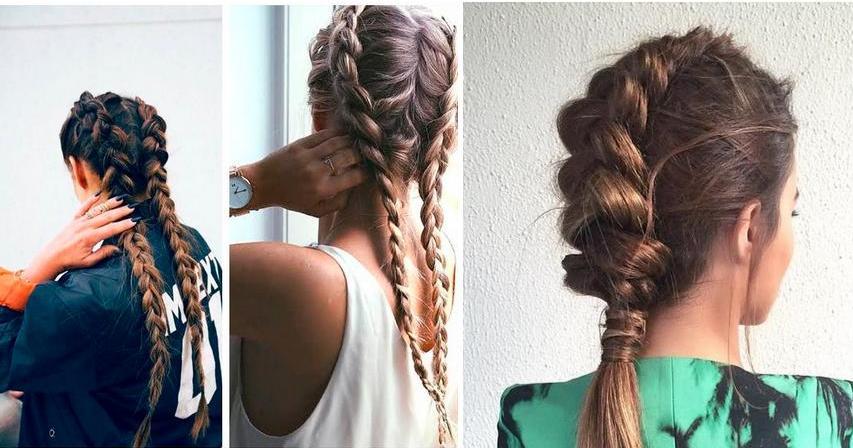 30 peinados con trenzas ideales para un look 10 belleza - Peinados De Trenzas