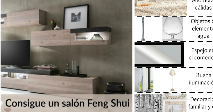 Distribuci n feng shui para el sal n consigue la armon a for Decorar casa 45 m2