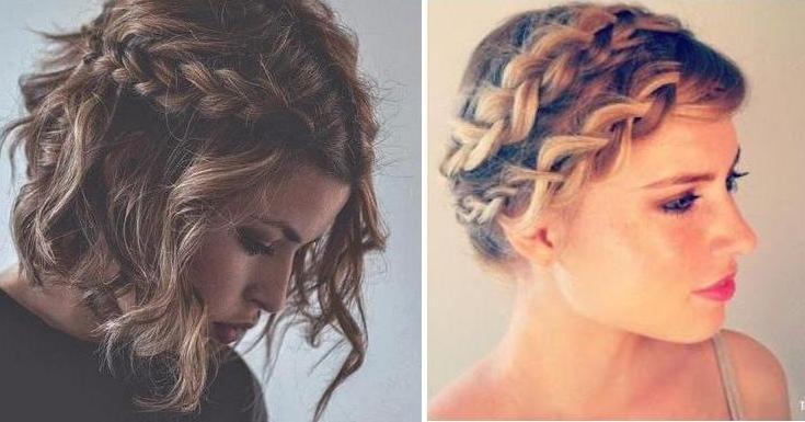 Ideas de belleza - Peinados de fiesta melena corta ...