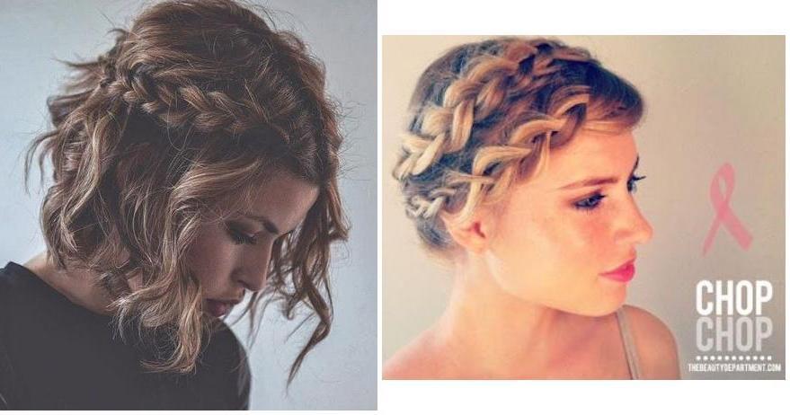 peinados fciles para media melena y algunos tutoriales no te lo pierdas with peinados sencillos pelo corto