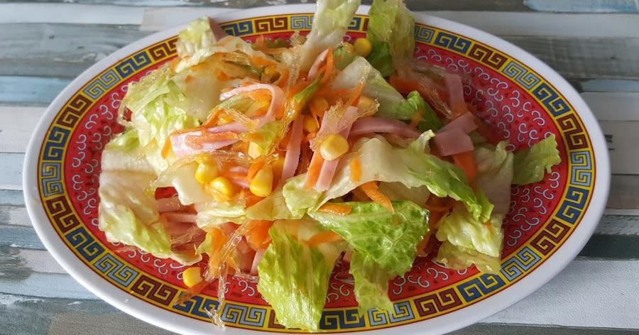 Ensalada como la de los restaurantes chinos