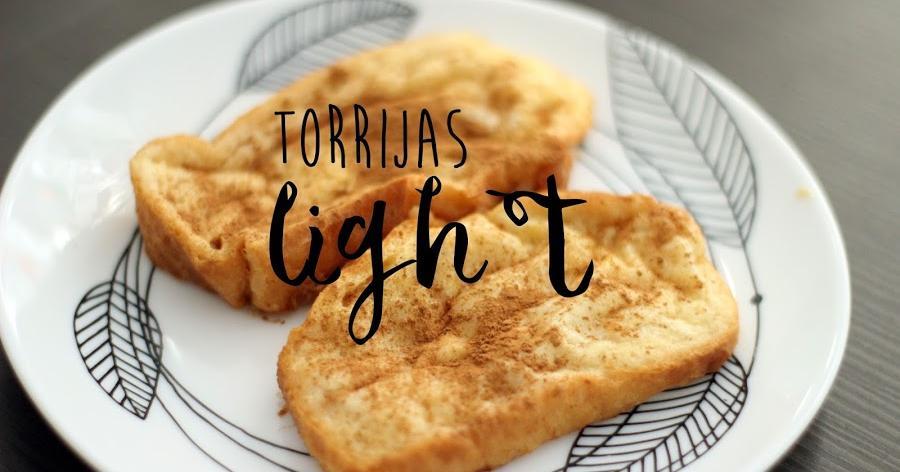 Torrijas light para pecar sin remordimientos