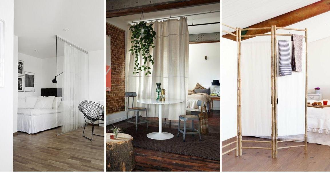 Como dividir una habitacion con cortinas - Cortinas para separar ambientes ...