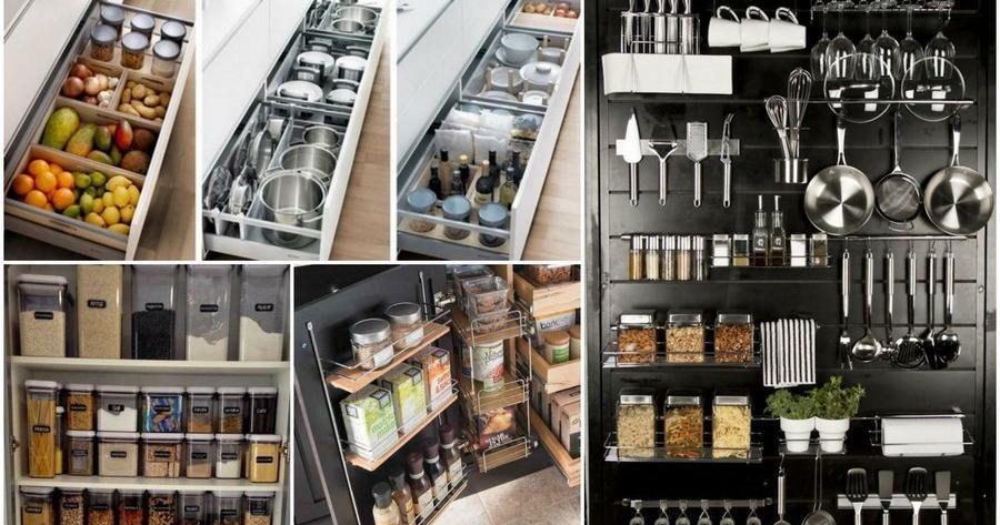 Organizar armarios cocina for Cocinas profesionales para el hogar