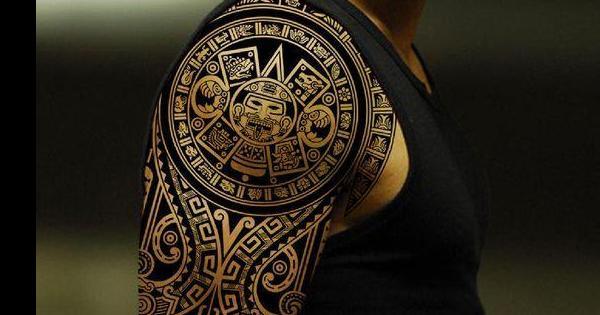 21 ideas de tatuajes mayas