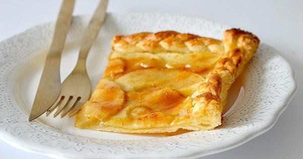 Receta exprés de tarta de manzana