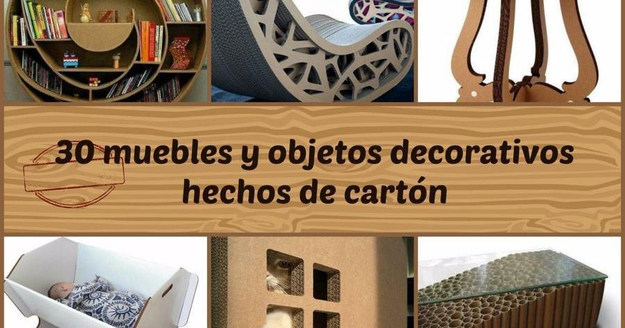 Muebles de carton - Mesas de carton ...