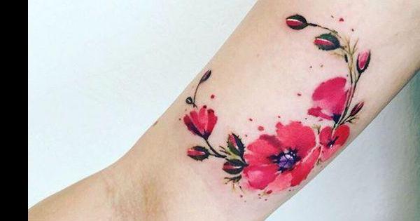 Tatuajes de flores: diseños y significados