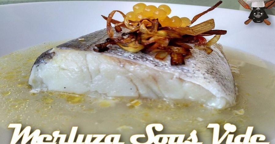 Merluza sous vide a baja temperatura cocina for Cocina baja temperatura thermomix
