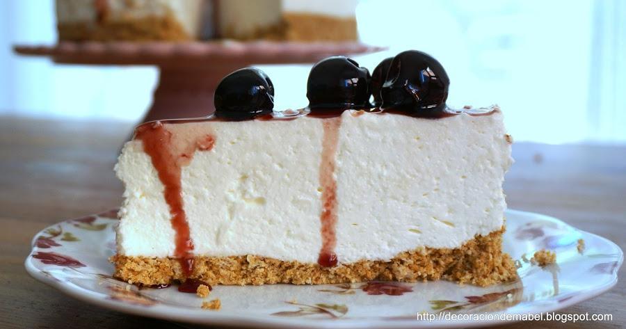Cheesecake fácil sin hornear