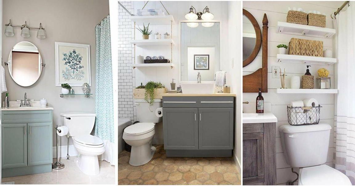 Ideas preciosas para organizar un baño pequeño, ¡transfórmalo ...