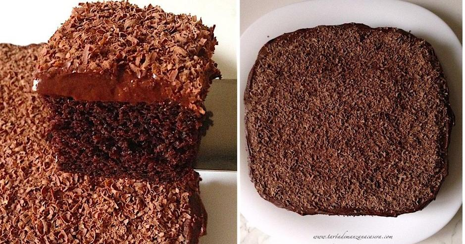 Pastel de chocolate (muuuuucho chocolate)