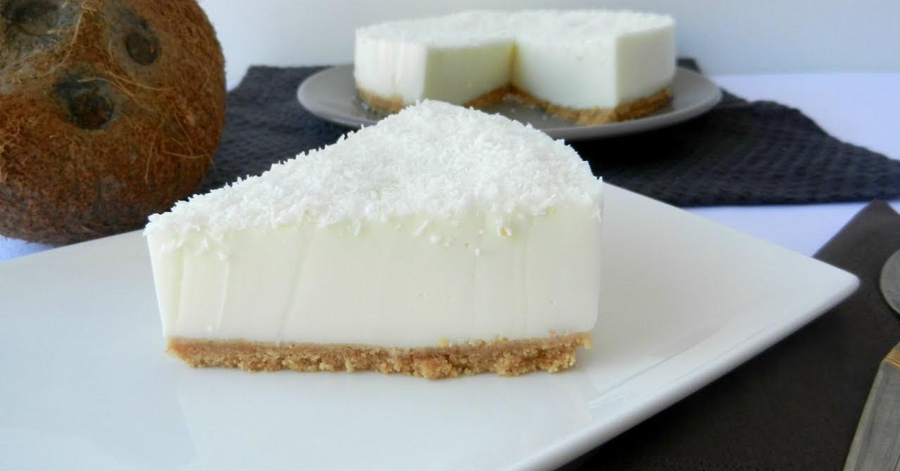 Tarta de coco super barata y super rica