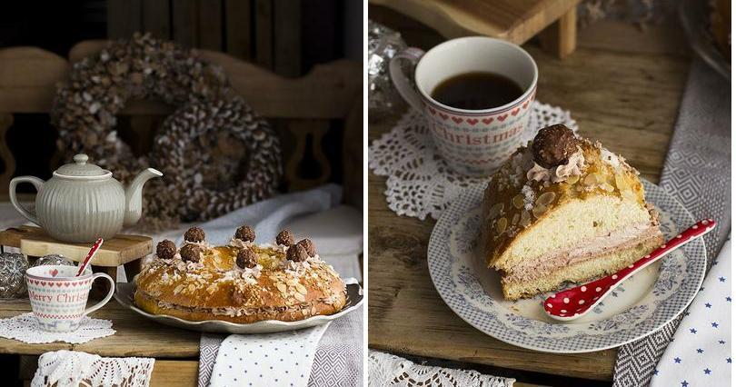 Roscón de Reyes de Ferrero Rocher