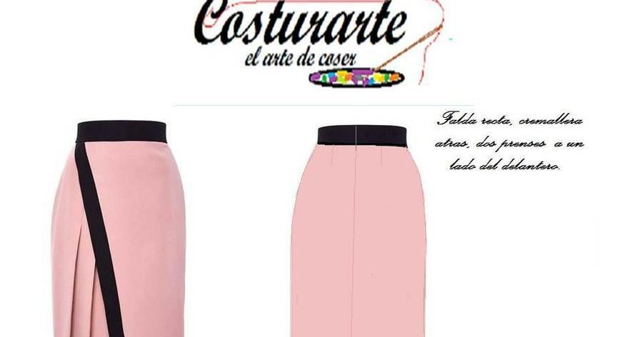 Cómo trazar una falda de diseño con prenses | Manualidades