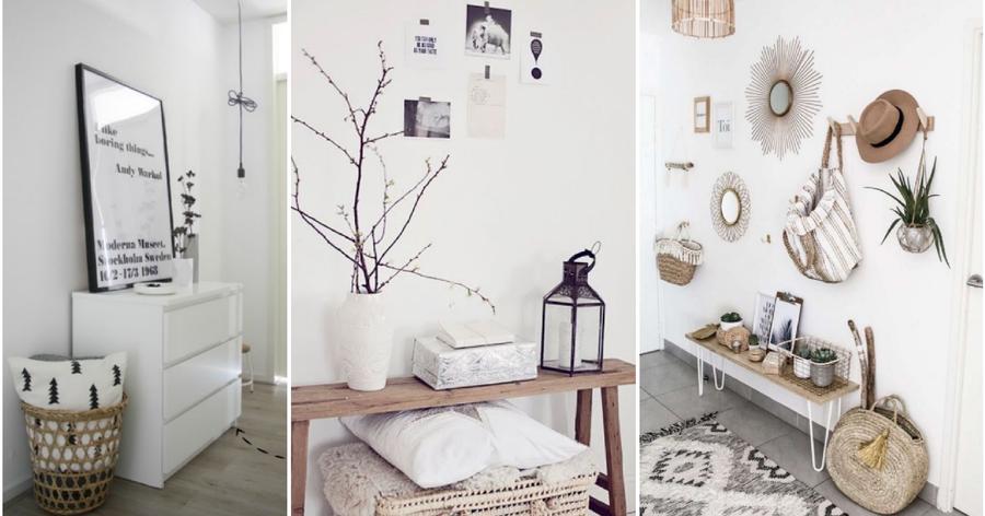10 recibidores de ensueo para pisos pequeos decoracin - Recibidores Con Encanto