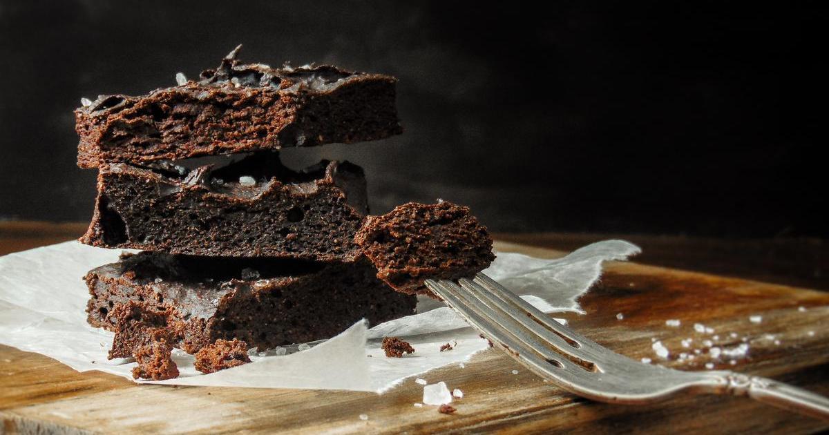 Cake de banana y chocolate. Simple, fácil y cero azúcar