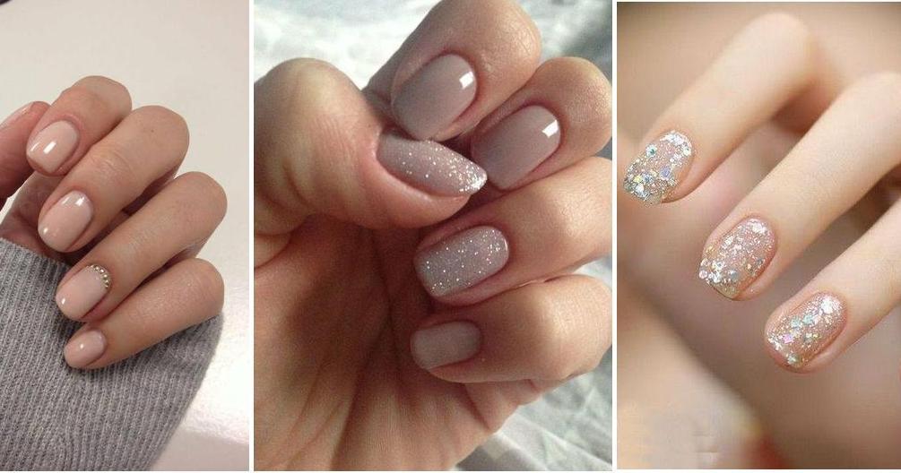 Diseños de uñas en tonos nude   Belleza