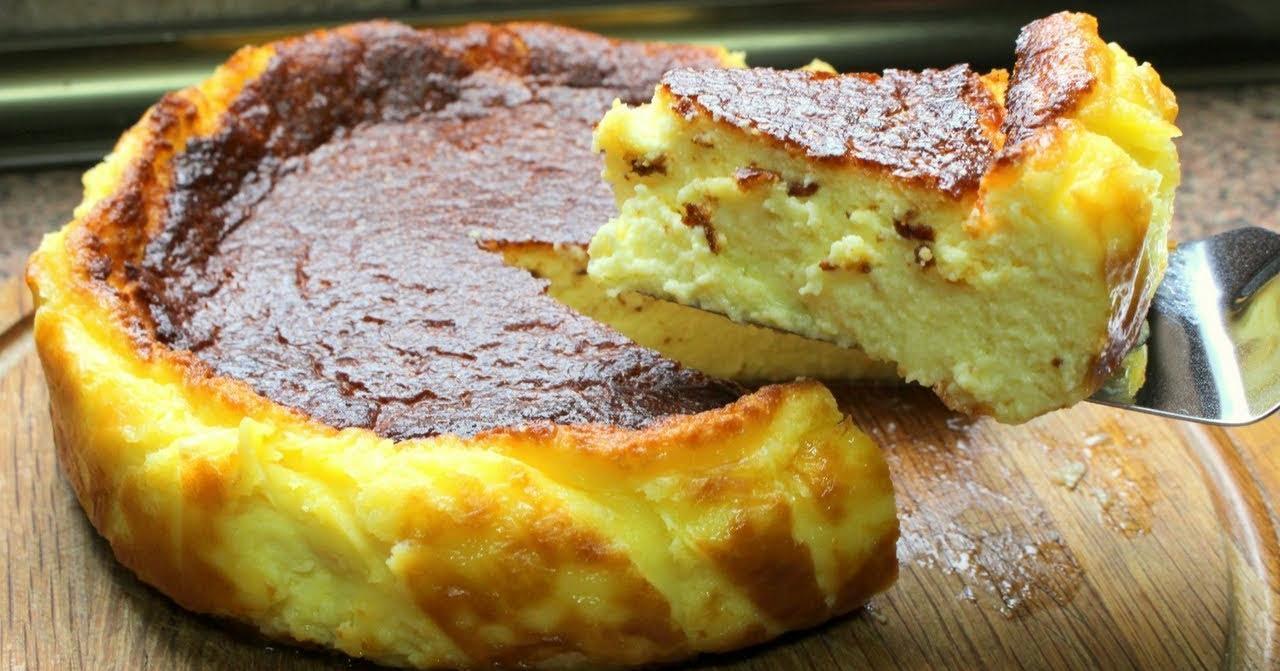 Tarta de queso casera, la mas fácil y rica del mundo
