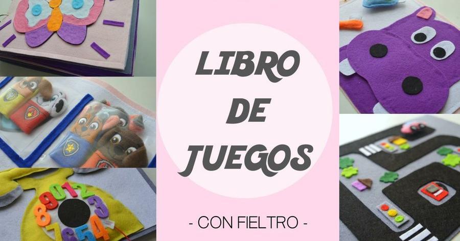 Libro de juegos para niños. (Plantillas descargables) | Manualidades