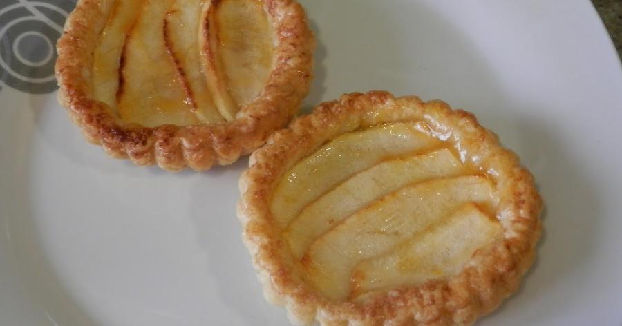 Tartaletas de manzana, superrápidas y facilísimas