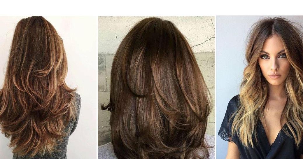 Cortes de cabello con capas largas 7e385c596aa2