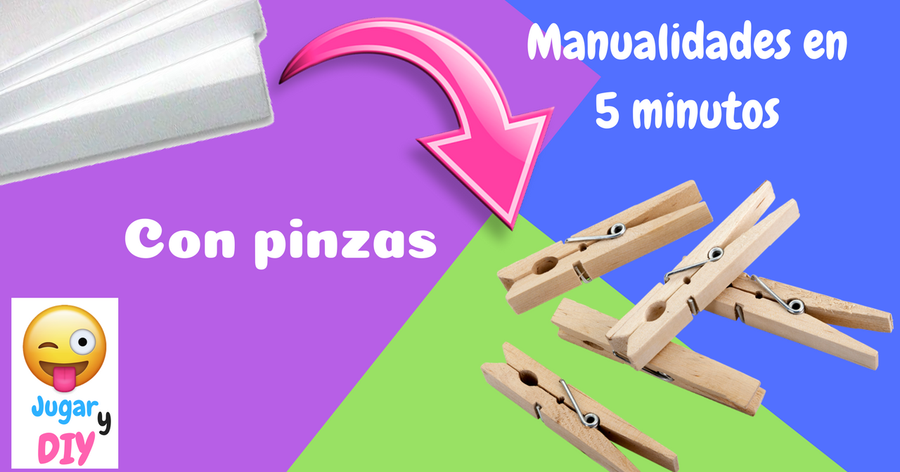 Ideas en 5 minutos con pinzas de tender la ropa for Ideas en cinco minutos