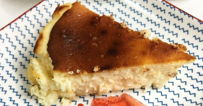 Tarta de queso RICOTTA (Al estilo de La Viña)