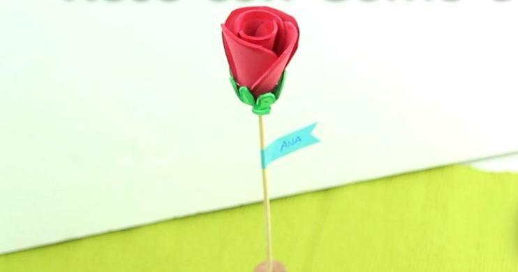 Rosas En Goma Eva Facilisimo Com