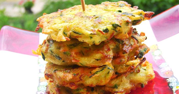 Frittelle de calabacín y patatas en ¡15 minutos!