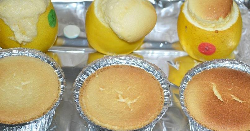Unos pastelitos de limón 'requetebuenos'