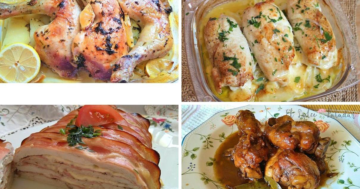 A falta de una, ¡seis recetas con pollo!