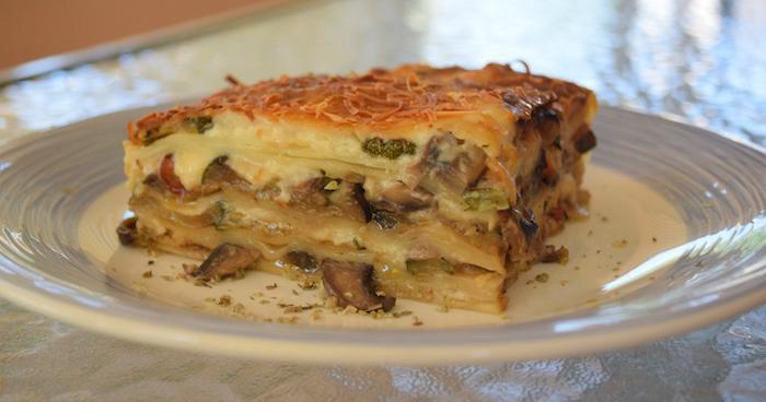 Receta de lasaña vegetariana ¡fácil y rápida!
