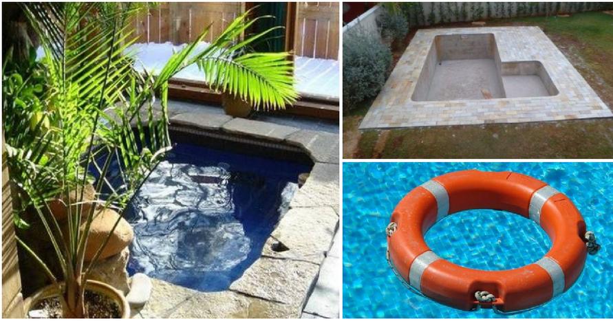 Diy c mo hacer una alberca en patio peque o plantas for Construir una piscina en un patio pequeno