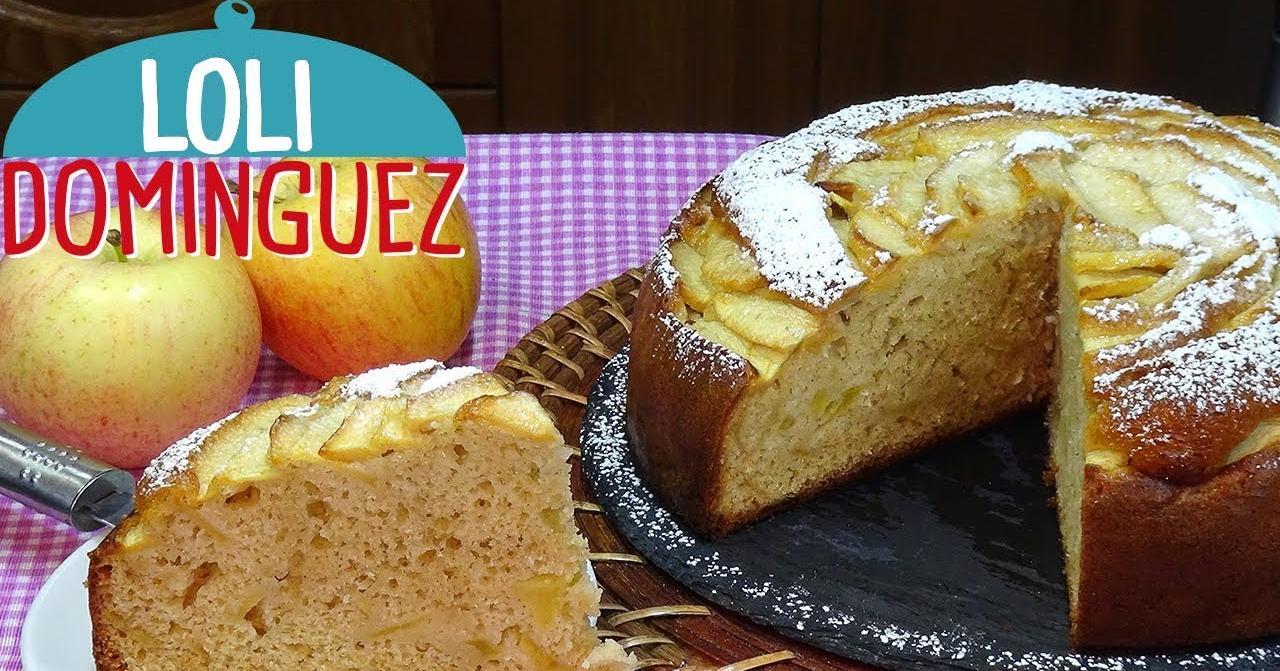 No te quedes sin esta fácil receta: bizcocho de nata y manzana