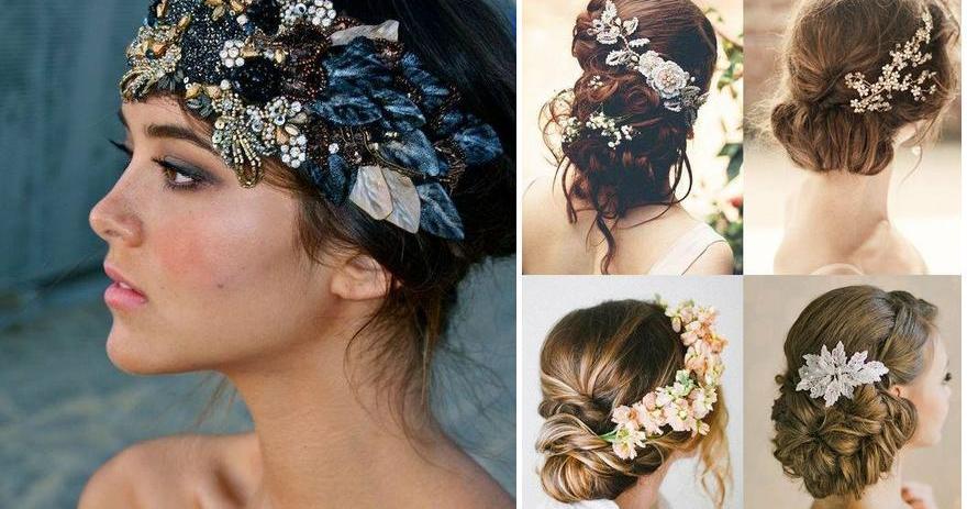 Peinados de novia estilo vintage