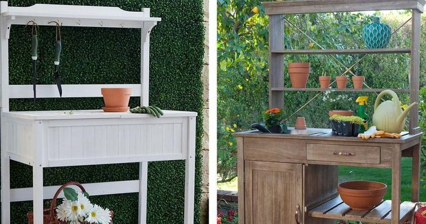 Trucos para hacer tu mesa de jardiner a bricolaje for Trucos jardineria